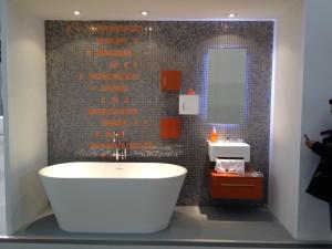 Ejemplo de baño en CEVISAMA